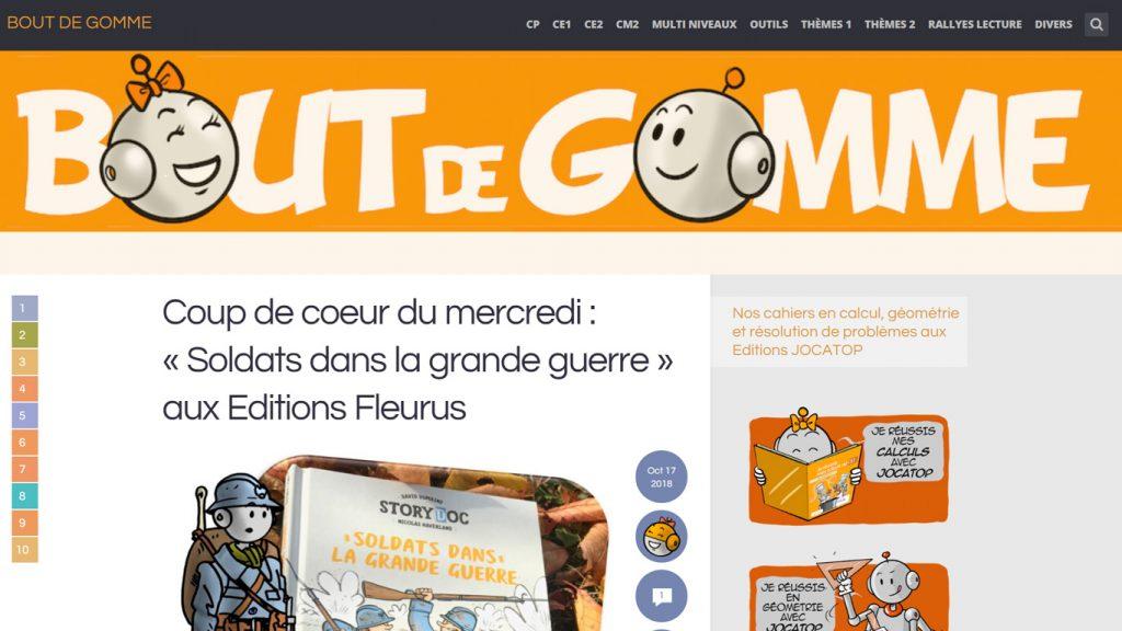 Site Bout de Gomme