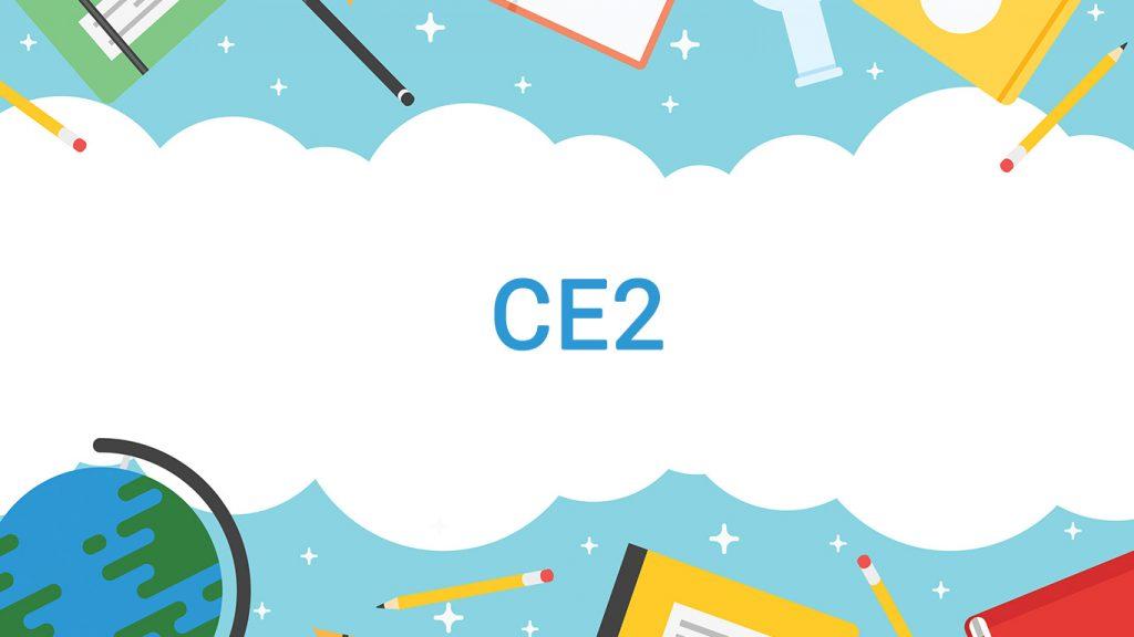 Cour et exercice programme CE2