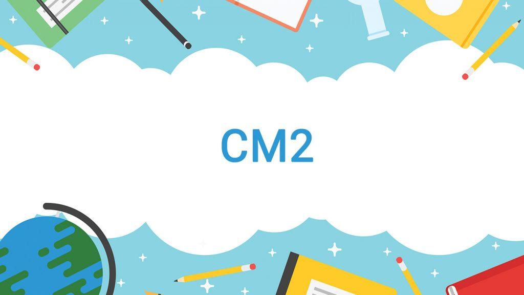 Cour et exercice programme CM2