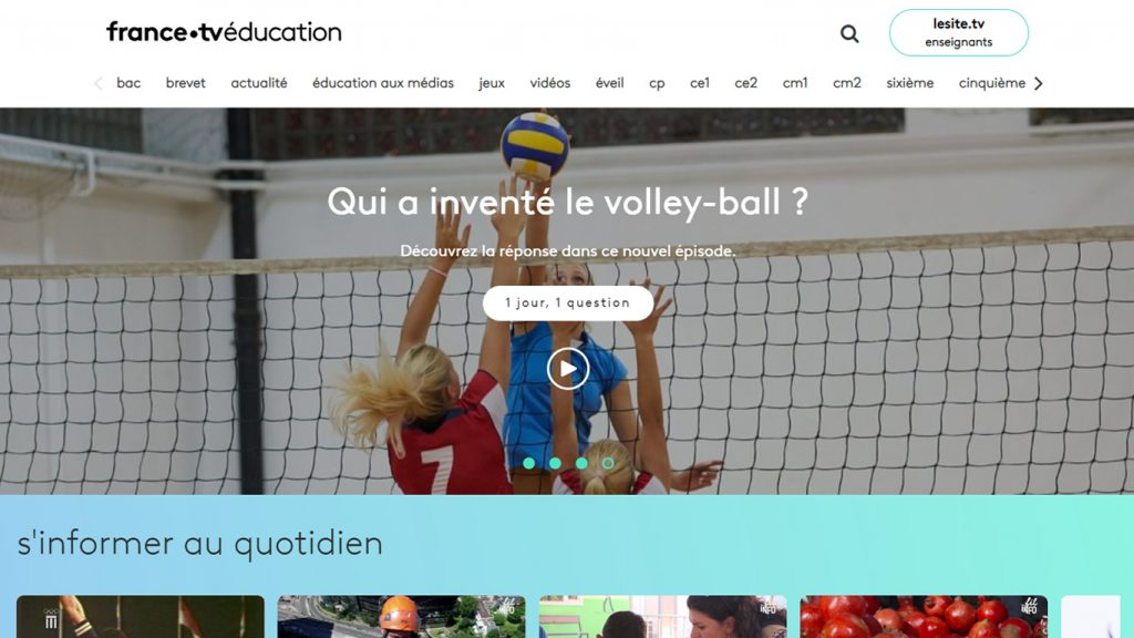 Site France TV Education