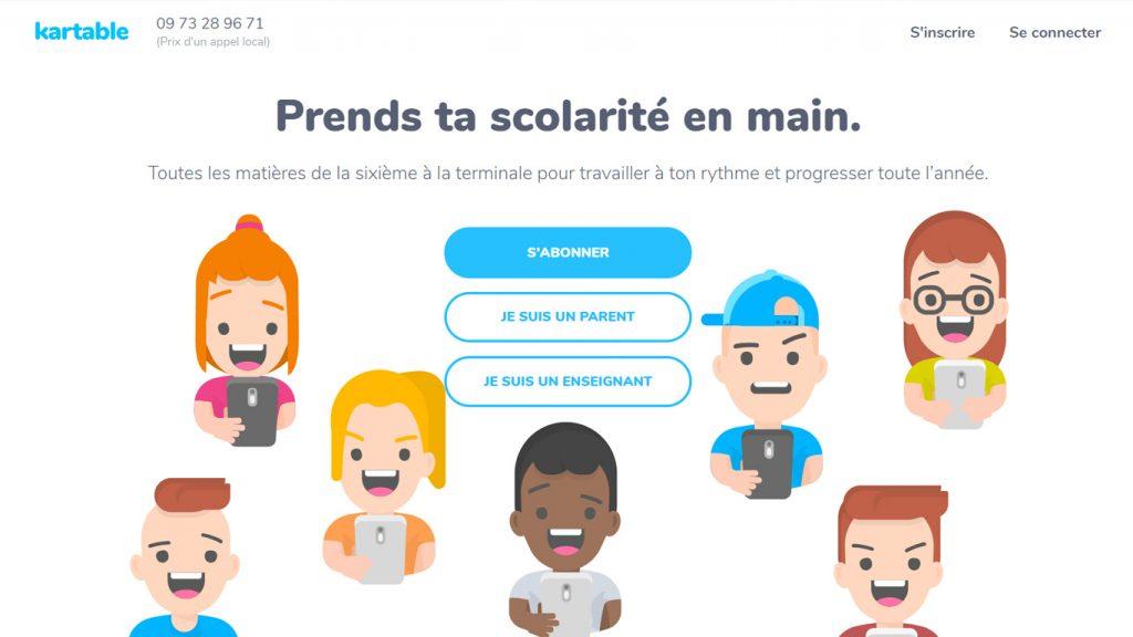 Site Kartable.fr