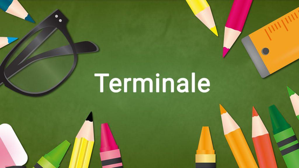 Programme terminale